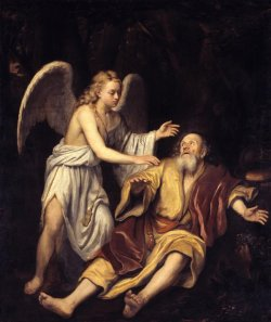 Bild: Tate Gallery, https://www.tate.org.uk/about-us/projects/tudor-stuart-technical-research/entries/elijah-and-angel-1672